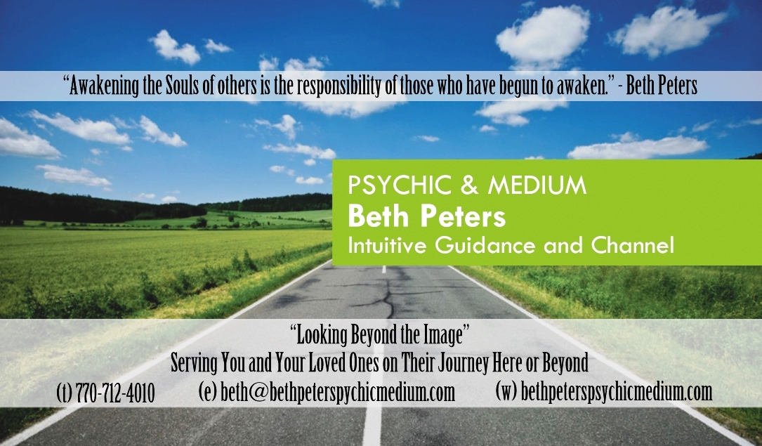 Psychic Readings - Ghosts of Georgia Paranormal Investigations